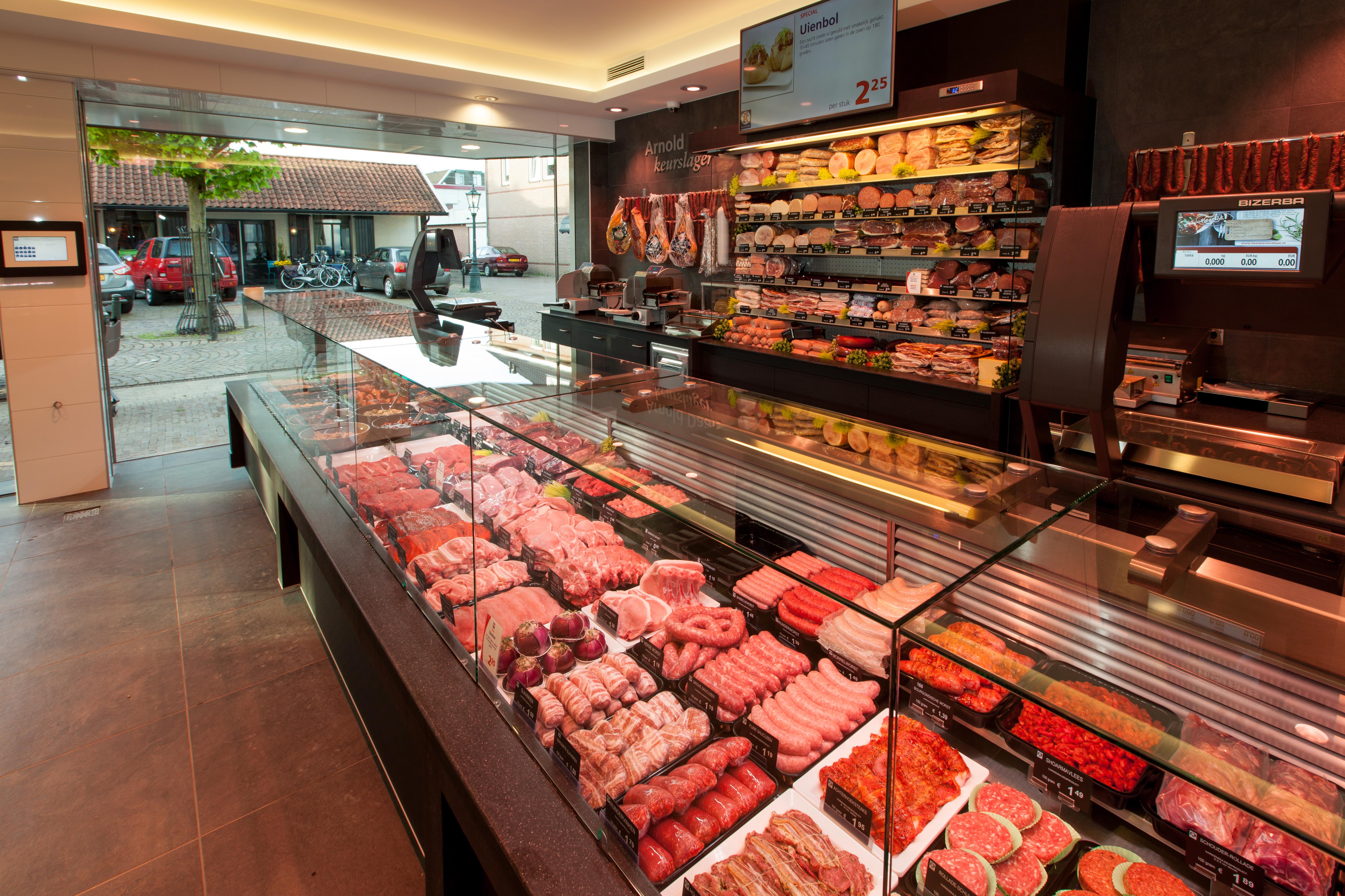 Keurslager Arnold Daals winkel